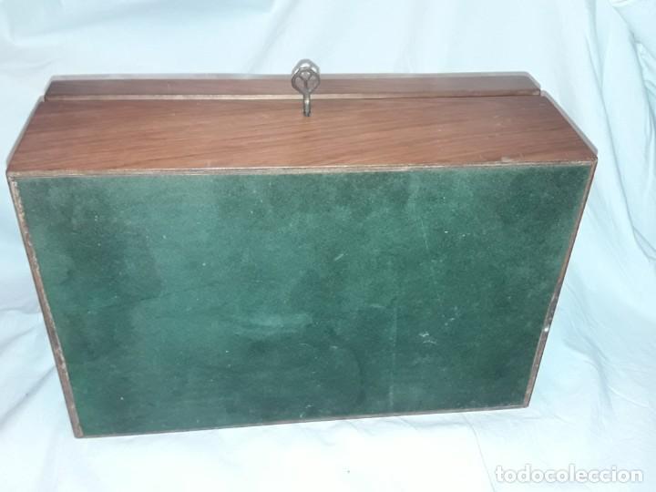 Cajas de Puros: Elegante caja de puros Humidificador madera de gran calidad de Olivo o Nogal - Foto 12 - 195974308