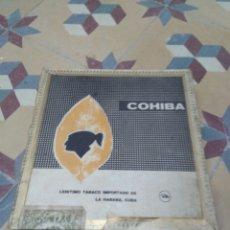 Cajas de Puros: CAJA PUROS VACÍA COHIBA 25 LANCEROS. Lote 196099546