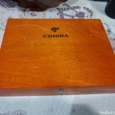 Cajas de Puros: CAJA DE PUROS COHIBA (VACÍA). Lote 196287025