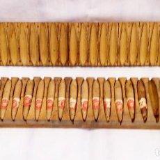 Cajas de Puros: PRENSA-MOLDE PARA PURITOS ANTIGUA. Lote 196768696