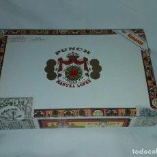 Cajas de Puros: CAJA DE PUROS PUCH MANUEL LOPEZ HABANA CUBA VACÍA. Lote 197413182