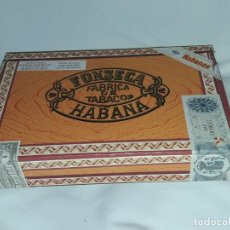 Boîtes de Cigares: CAJA DE PUROS FABRICA DE TABACOS FONSECA HABANA DELICIAS CUBA VACÍA. Lote 197415851