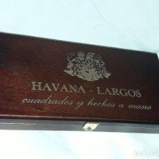 Boîtes de Cigares: CAJA DE PUROS HABANA LARGOS CUBA VACÍA. Lote 197416761
