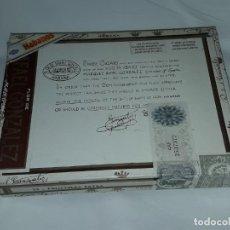 Boîtes de Cigares: CAJA DE PUROS FLOR DE RAFAEL GONZALEZ HABANA CUBA VACÍA. Lote 197417291