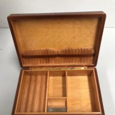Cajas de Puros: CAJA PURERA EN CUERO. Lote 197426530