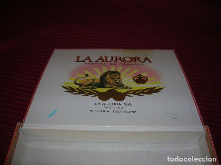 Cajas de Puros: Caja de puros La Aurora.República Dominicana. - Foto 2 - 198386885