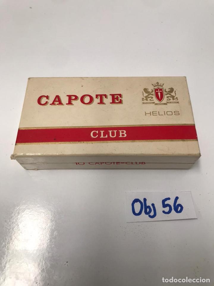 CAJA PUROS CAPOTE (Coleccionismo - Objetos para Fumar - Cajas de Puros)