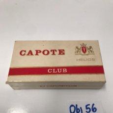 Cajas de Puros: CAJA PUROS CAPOTE. Lote 199208803