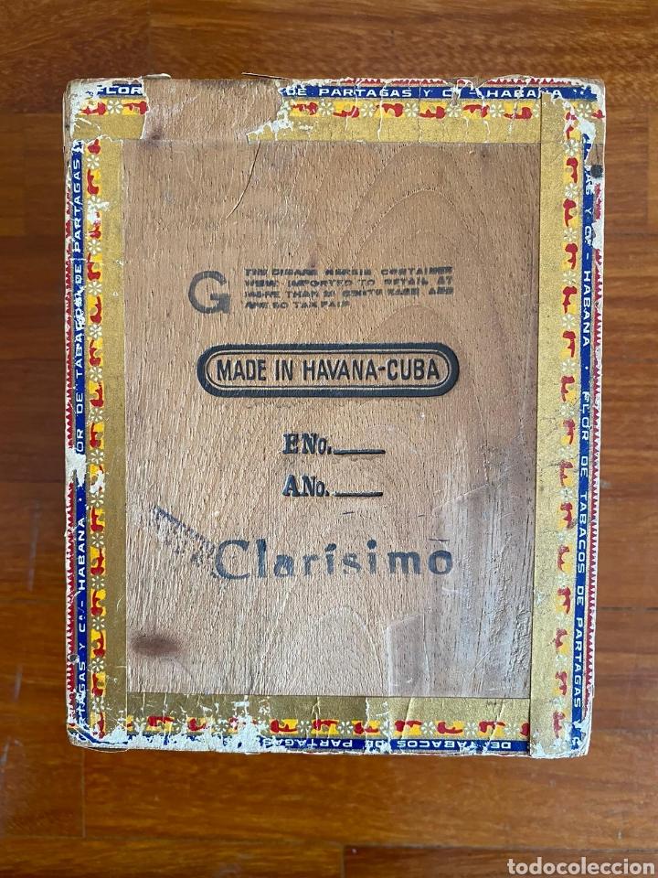 Cajas de Puros: CAJA DE PUROS VINTAGE CUBAN CIGAR BOX PARTAGAS ENVIO INCLUIDO - Foto 3 - 199315746