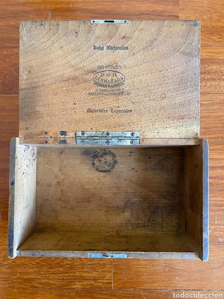 Cajas de Puros: CAJA DE PUROS VINTAGE CUBAN CIGAR BOX POR LARRANAGA BABY NACIONALES ENVIO INCLUIDO - Foto 3 - 199316035