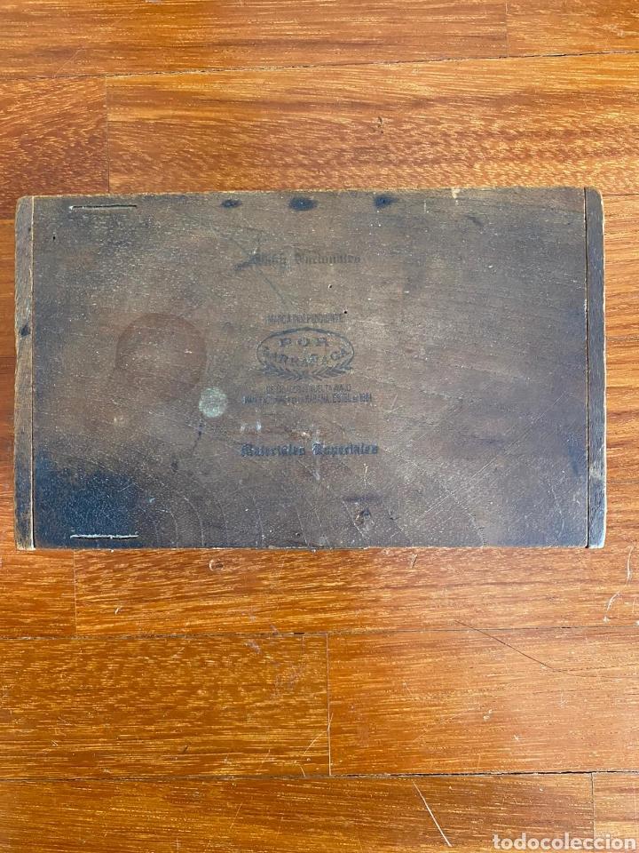 CAJA DE PUROS VINTAGE CUBAN CIGAR BOX POR LARRANAGA BABY NACIONALES ENVIO INCLUIDO (Coleccionismo - Objetos para Fumar - Cajas de Puros)