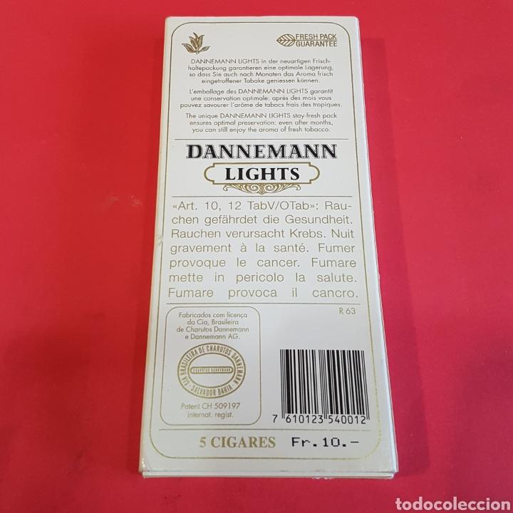 Cajas de Puros: CAJA DE 5 PUROS DANNEMANN LIGHTS - Foto 2 - 199913430