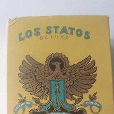 Cajas de Puros: PAQUETE DE PUROS LOS STATOS ( LUXE ) LA HABANA. Lote 200734335