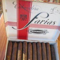 Cajas de Puros: CAJA PURO FARIAS SUPERIORES 50 CIGARROS . Lote 201245381