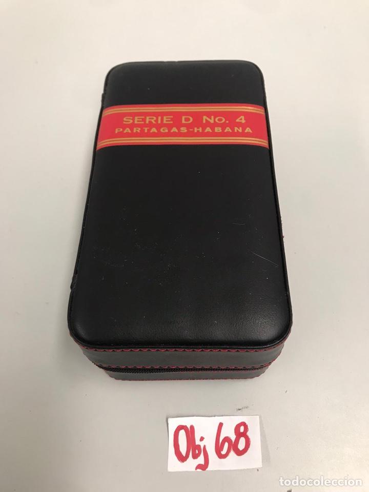 ESTUCHE PARTAGAS HABANA (Coleccionismo - Objetos para Fumar - Cajas de Puros)
