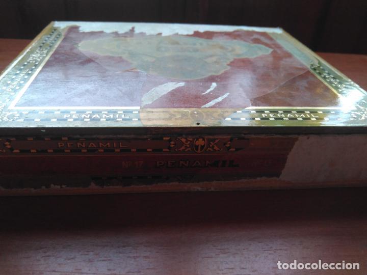 Cajas de Puros: LOTE DE 10 ANTIGUAS CAJAS DE PUROS Y PUROS - VEA LAS FOTOGRAFIAS - Foto 7 - 203109497