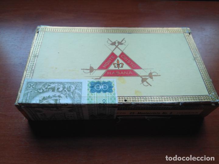 Cajas de Puros: LOTE DE 10 ANTIGUAS CAJAS DE PUROS Y PUROS - VEA LAS FOTOGRAFIAS - Foto 9 - 203109497