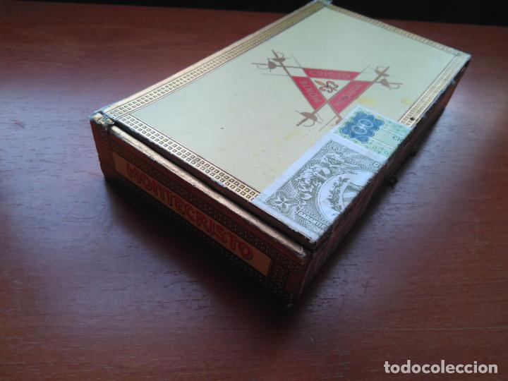 Cajas de Puros: LOTE DE 10 ANTIGUAS CAJAS DE PUROS Y PUROS - VEA LAS FOTOGRAFIAS - Foto 10 - 203109497