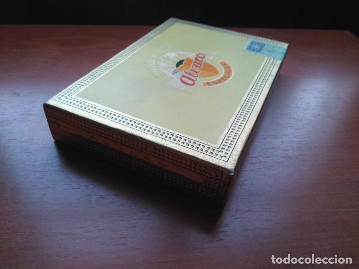 Cajas de Puros: LOTE DE 10 ANTIGUAS CAJAS DE PUROS Y PUROS - VEA LAS FOTOGRAFIAS - Foto 16 - 203109497