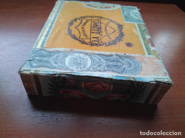 Cajas de Puros: LOTE DE 10 ANTIGUAS CAJAS DE PUROS Y PUROS - VEA LAS FOTOGRAFIAS - Foto 25 - 203109497