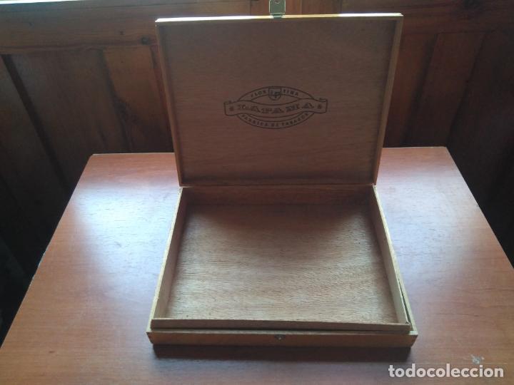 Cajas de Puros: LOTE DE 10 ANTIGUAS CAJAS DE PUROS Y PUROS - VEA LAS FOTOGRAFIAS - Foto 34 - 203109497