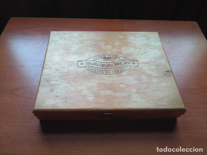 Cajas de Puros: LOTE DE 10 ANTIGUAS CAJAS DE PUROS Y PUROS - VEA LAS FOTOGRAFIAS - Foto 35 - 203109497