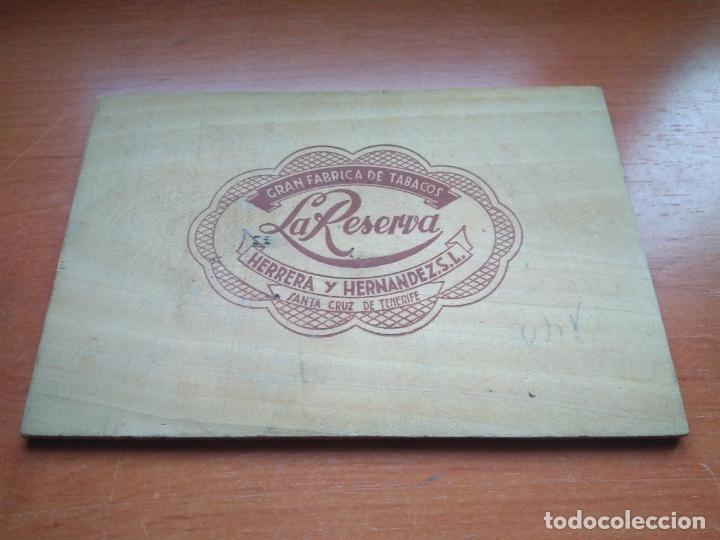 Cajas de Puros: LOTE DE 10 ANTIGUAS CAJAS DE PUROS Y PUROS - VEA LAS FOTOGRAFIAS - Foto 38 - 203109497