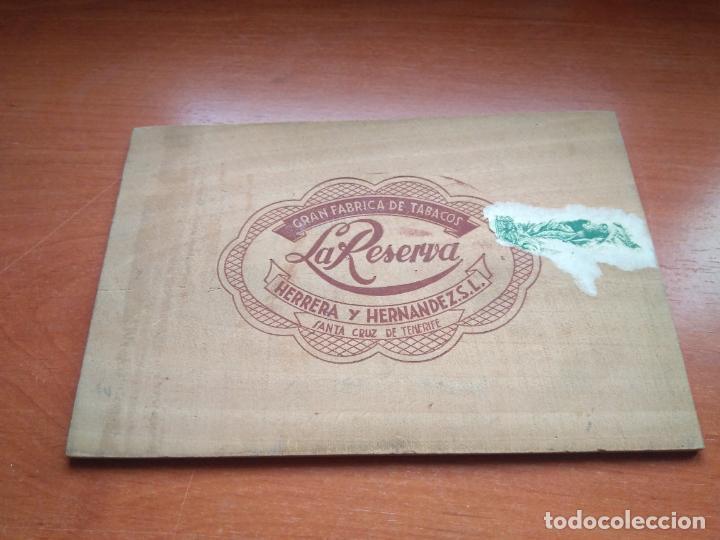 Cajas de Puros: LOTE DE 10 ANTIGUAS CAJAS DE PUROS Y PUROS - VEA LAS FOTOGRAFIAS - Foto 39 - 203109497