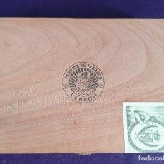 Cajas de Puros: ANTIGUA CAJA DE PUROS PEÑAMIL Nº6. COMPLETA. 25 PUROS. HECHO A MANO. 1975.. Lote 204643005