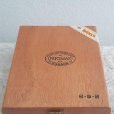 Cajas de Puros: CAJA DE PUROS PARTAGAS VACÍA. Lote 205132886