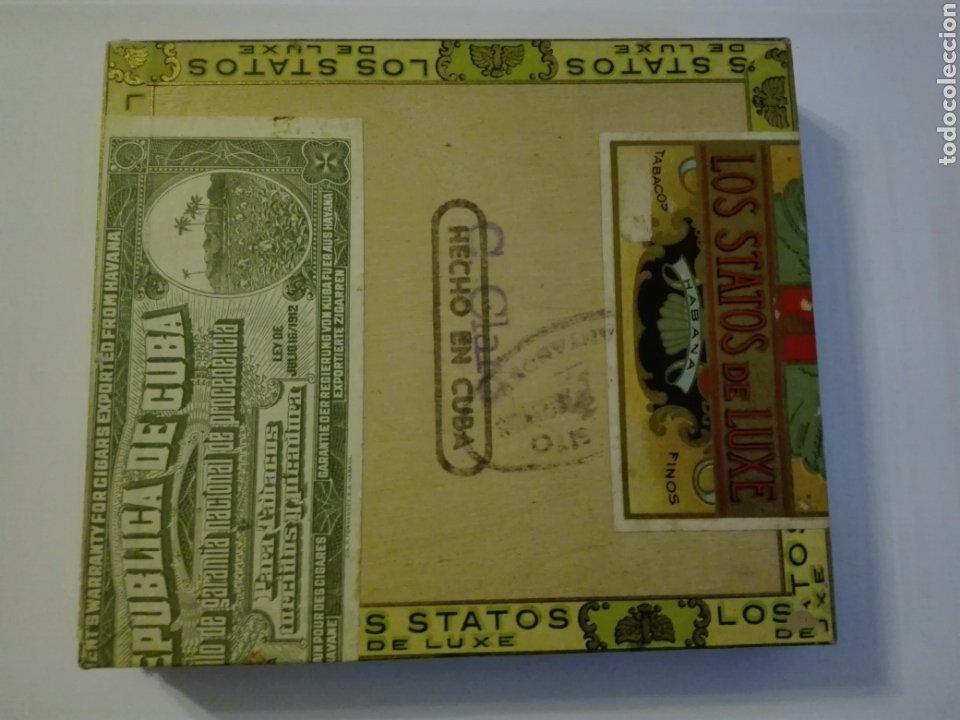 Cajas de Puros: LOS STATOS DE LUXE CAJA DE PUROS CUBA HABANA - Foto 2 - 205594705