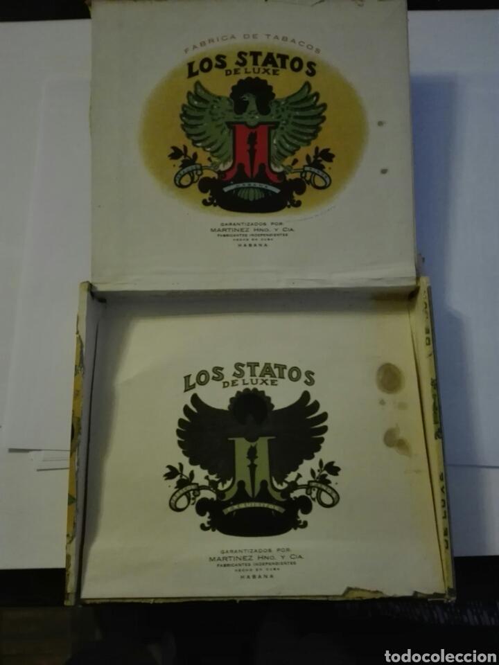 Cajas de Puros: LOS STATOS DE LUXE CAJA DE PUROS CUBA HABANA - Foto 3 - 205594705