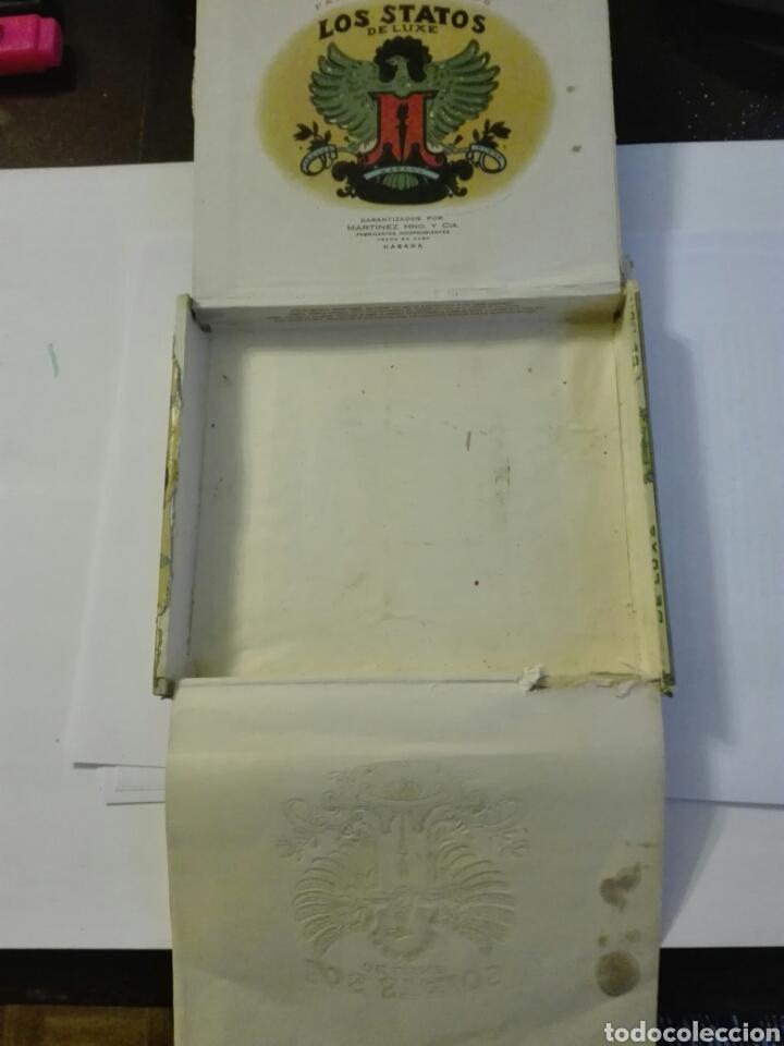 Cajas de Puros: LOS STATOS DE LUXE CAJA DE PUROS CUBA HABANA - Foto 6 - 205594705