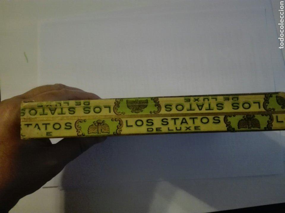 Cajas de Puros: LOS STATOS DE LUXE CAJA DE PUROS CUBA HABANA - Foto 10 - 205594705