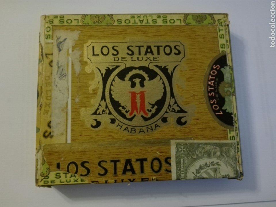 LOS STATOS DE LUXE CAJA DE PUROS CUBA HABANA (Coleccionismo - Objetos para Fumar - Cajas de Puros)