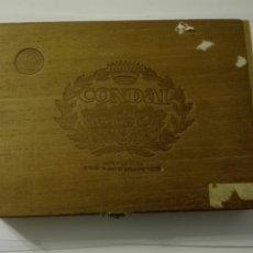 Cajas de Puros: CONDAL CAJA DE PUROS LAS PALMAS EUFEMIANO FUENTES EN MADERA. Lote 205595706