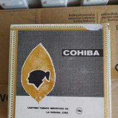 Cajas de Puros: CAJA DE PUROS, COHIBA CON 11 PUROS LANCEROS PRECINTADOS. Lote 205752997