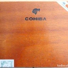 Cajas de Puros: COHIBA - CAJA MADERA VACÍA - PUROS ESPLÉNDIDOS –HABANA–CUBA. Lote 205828420