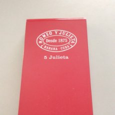 Cajas de Puros: CAJA METÁLICA ROMEO Y JULIETA HABANA-CUBA. Lote 205832505