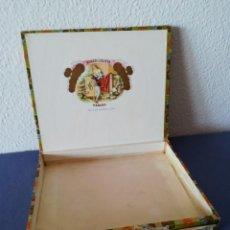 Cajas de Puros: ROMEO Y JULIETA HABANA 10 CHURCHILLS TUBOS DE ALUMINIO, CAJA VACIA, DEL AÑO APR 1985 (OEUL). Lote 205838020