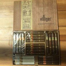 Cajas de Puros: CAJA DE 23 PUROS VILLIGER COMPLETA. Lote 206334967
