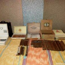 Cajas de Puros: LOTE DE PUROS CUBANOS. Lote 206535403