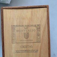 Cajas de Puros: CAJA MONTEALTO HONDURAS. Lote 207023892