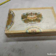Cajas de Puros: ANTIGUA CAJA DE PUROS VACIA, H. UPMANN, MADE IN HAVANA-CUBA, PRE- REVOLUCION, MADERA Nº 4. Lote 207255705
