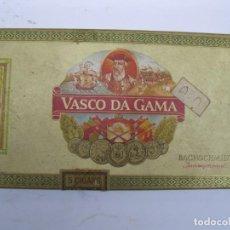 Cajas de Puros: CAJA CON 5 PUROS VASCO DA GAMA.. Lote 207854525