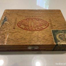 Cajas de Puros: JOSÉ L. DE PIEDRA BOITE NATURE HABANA 25 CORONAS CAJA PUROS VACIA (G). Lote 210304440