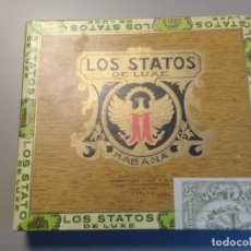 Cajas de Puros: CAJA DE PUROS SIN ABRIR LOS STATOS. 10 SELECTOS. HECHO EN CUBA. PRECINTADA. Lote 210543293