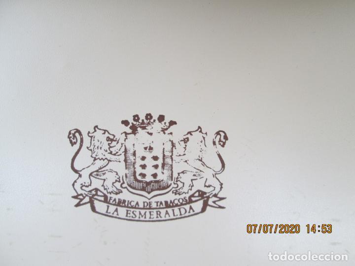 Cajas de Puros: LA ESMERALDA - FÁBRICA DE TABACOS - CAJA PUROS 25 SUPERIORES - ESTUCHE ORIGINAL - NUEVOS. - Foto 4 - 210816394