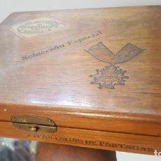 Cajas de Puros: ANTIGUA CAJA DE PUROS PARTAGAS DE PARTAGAS HABANA CUBA. Lote 210953615