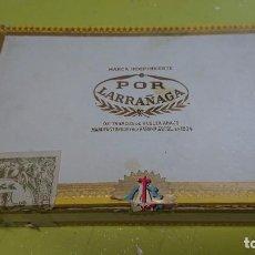 Cajas de Puros: CAJA DE PUROS VACÍA POR LARRAÑAGA 25 SUPER CEDROS - MADERA - HECHO EN CUBA. Lote 211410714
